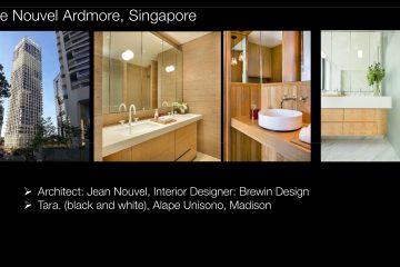 Le Nouvel Ardmore, Singapore