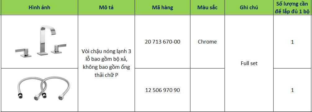 voi chau nong lanh ba nga 20 713 670-00